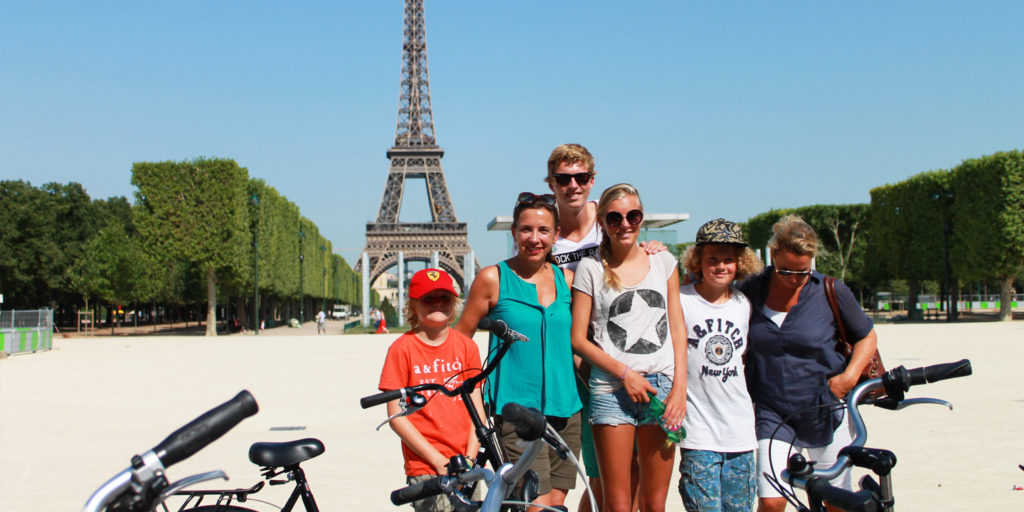 Private bike tour in Paris