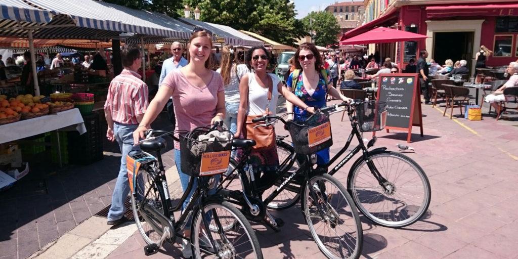 Bike rentals in Nice