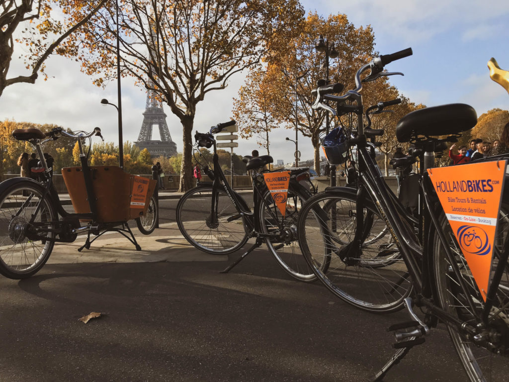 Holland bikes Tours guidés et locations loc Paris