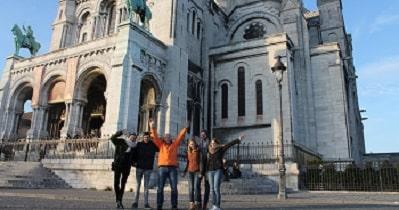 walking tour Paris